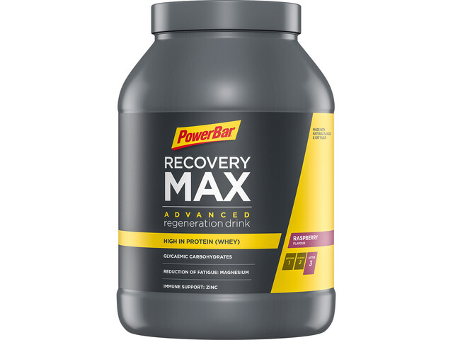 PowerBar Recovery Max Dose 1144g Himbeere